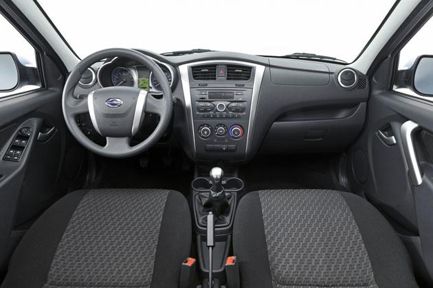 Фотография салона Datsun on-DO передняя панель